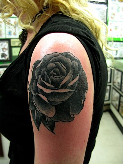 Book Cover Black Tattoo : Black roses tattoo cover up rose tat tit for
