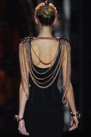 Aristocrazy fall-winter 2013/2014 gold accessories