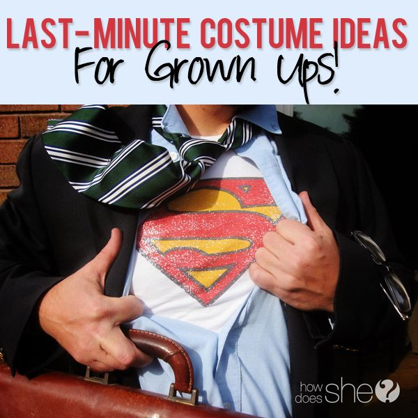 Last minute costume ideas for the grownups Costumes, Holidays and - last minute costume ideas halloween