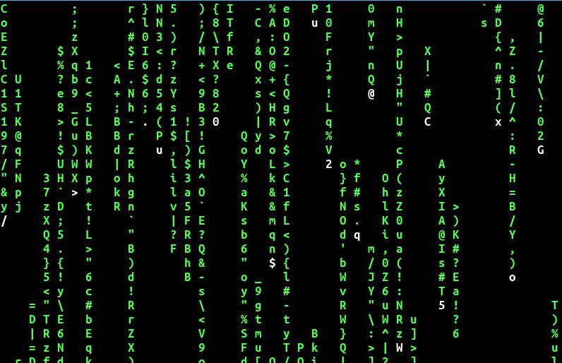 Matrix Linux Mint Coding Linux