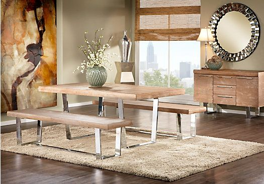 Cindy Crawford Home San Francisco Ash 3 Pc Dining Room. $988.00 ...