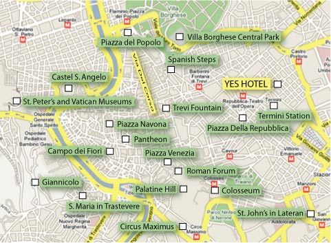 How To Get From Roma Termini To Vatican City