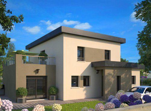 Plan maison neuve à construire - Maisons France Confort Concept 167 - plan maison france confort