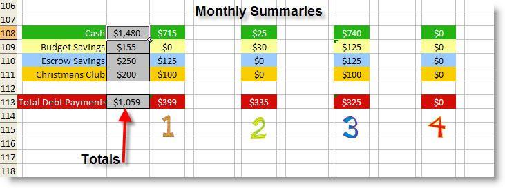 Dave Ramsey's Budget excel spreadsheet | Chris Hoffman's Blog ...