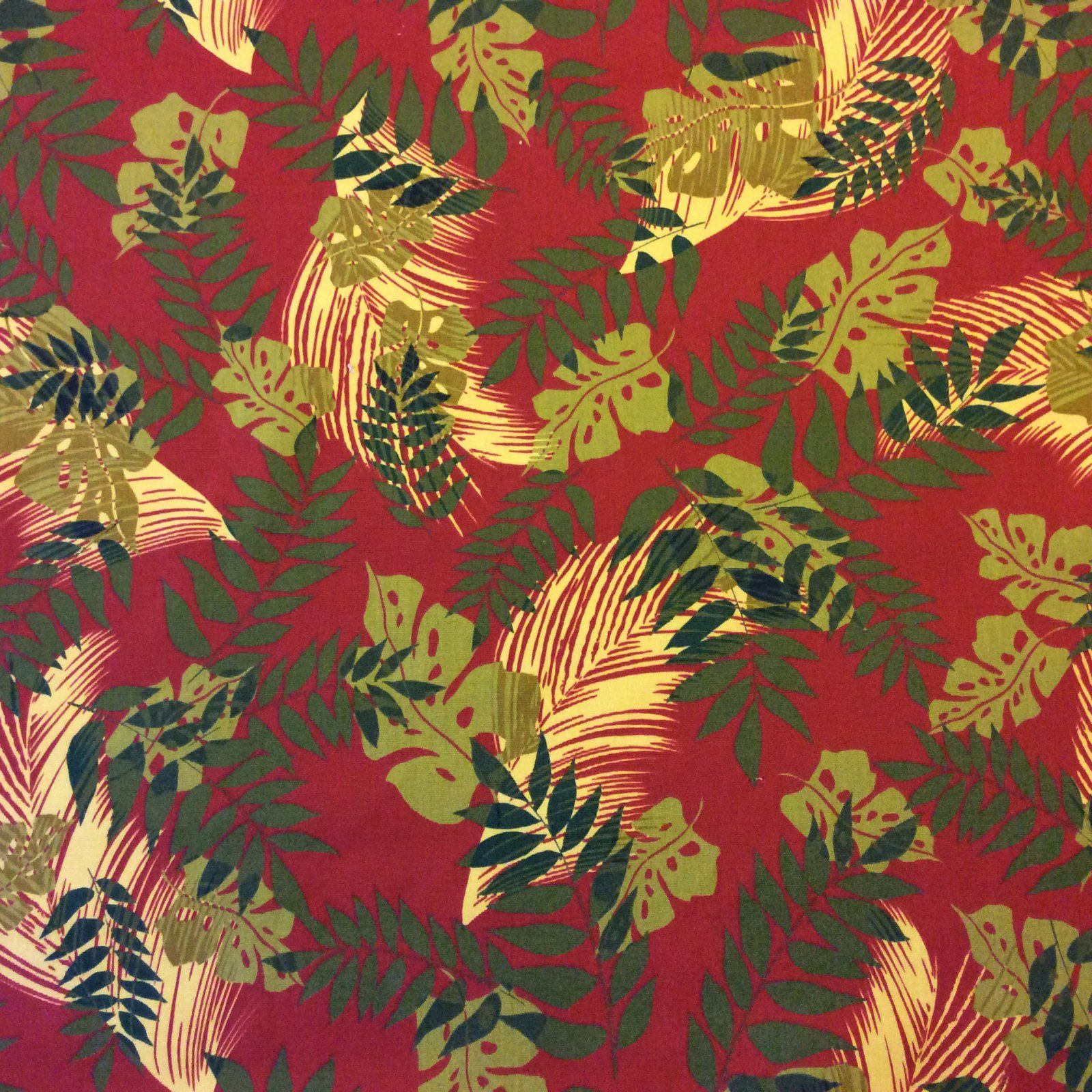 S94 Banana Leaf Neutral Tones Tropical Leaves Plants Wildlife Nature Outdoor fabric Famous Maker