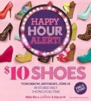$10 shoes tomorrow...