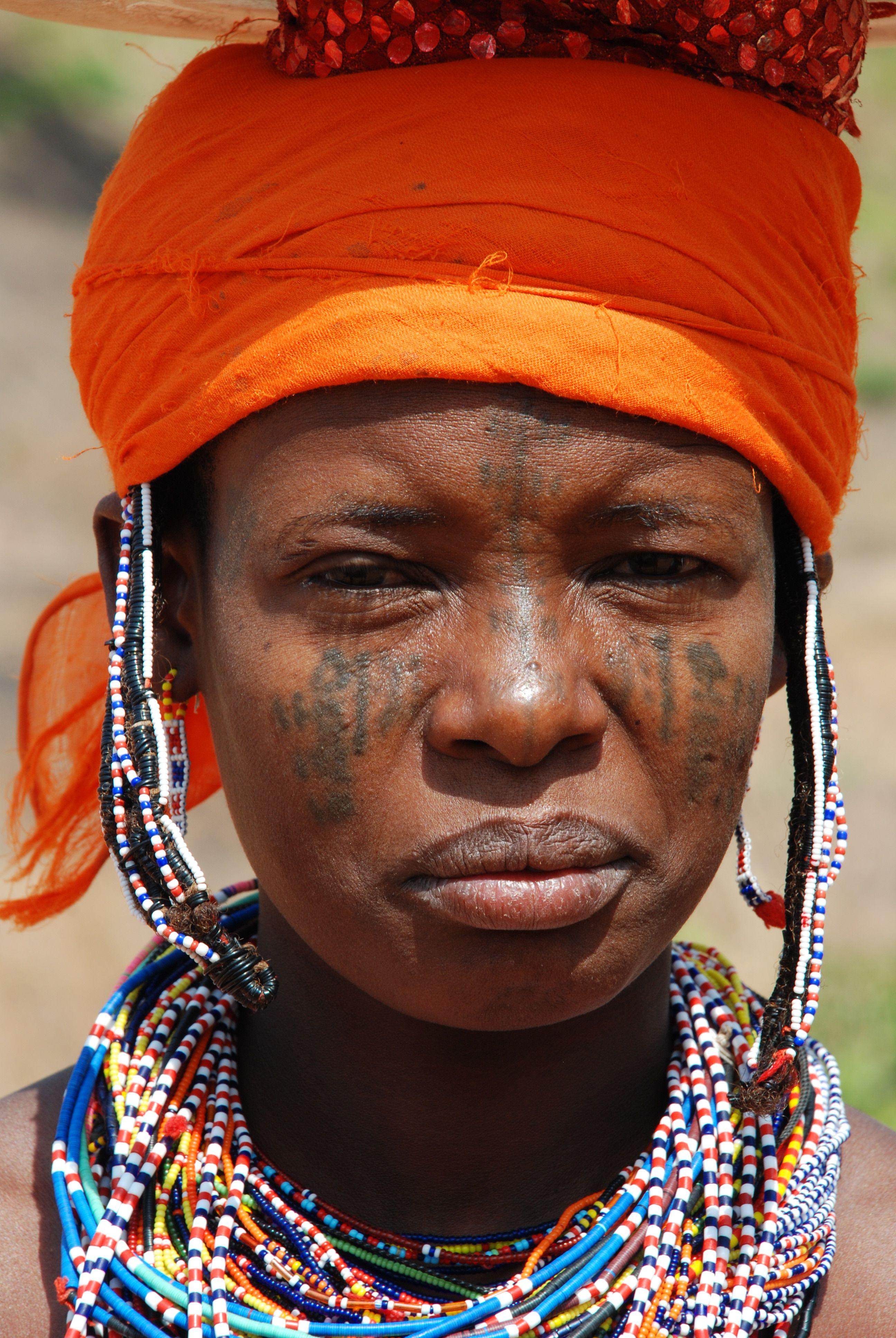 Mbororo girl, northern Benin