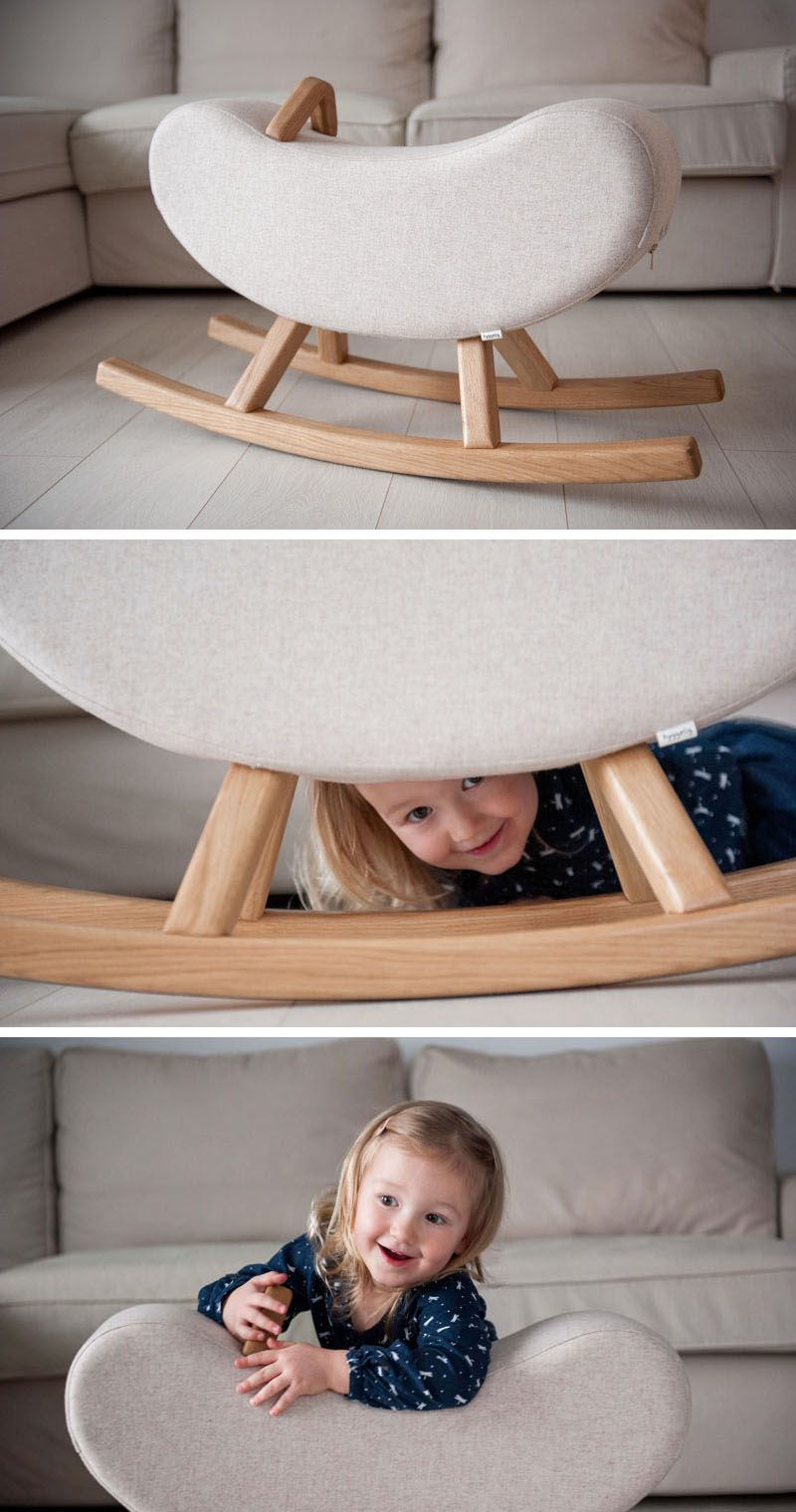 Banana Rocker Chair Hyggelig Designs Two New Modern Children S Rockers The Mountain