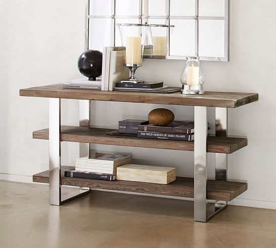 Durham Console Table | Pottery Barn. Like the concept but not the ...