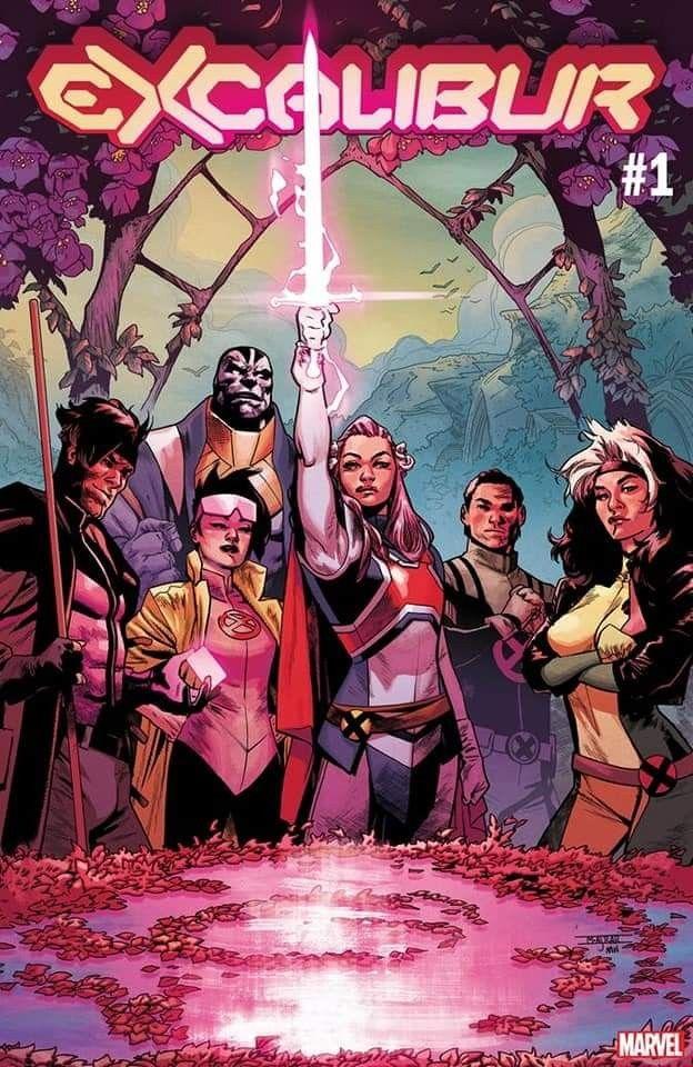 New Excalibur 2019 2020 Comics Marvel X Men