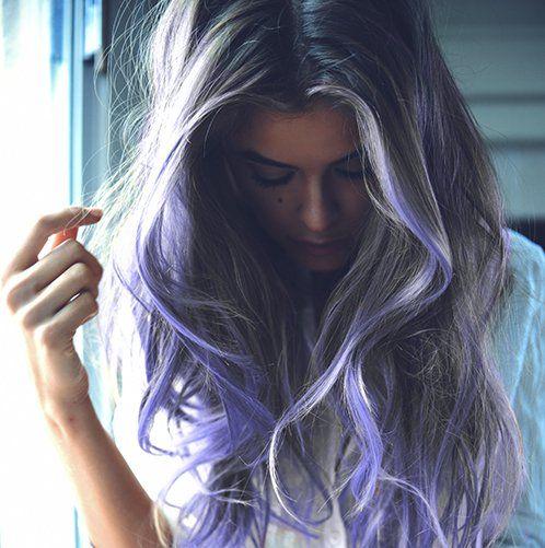 #ombrehair #purplehair