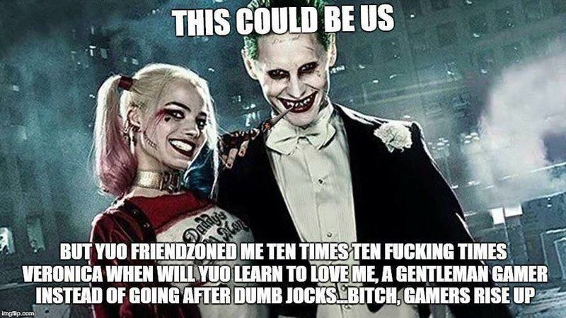 Gamer Joker  Gamers Rise Up  We Live In A Society -9402