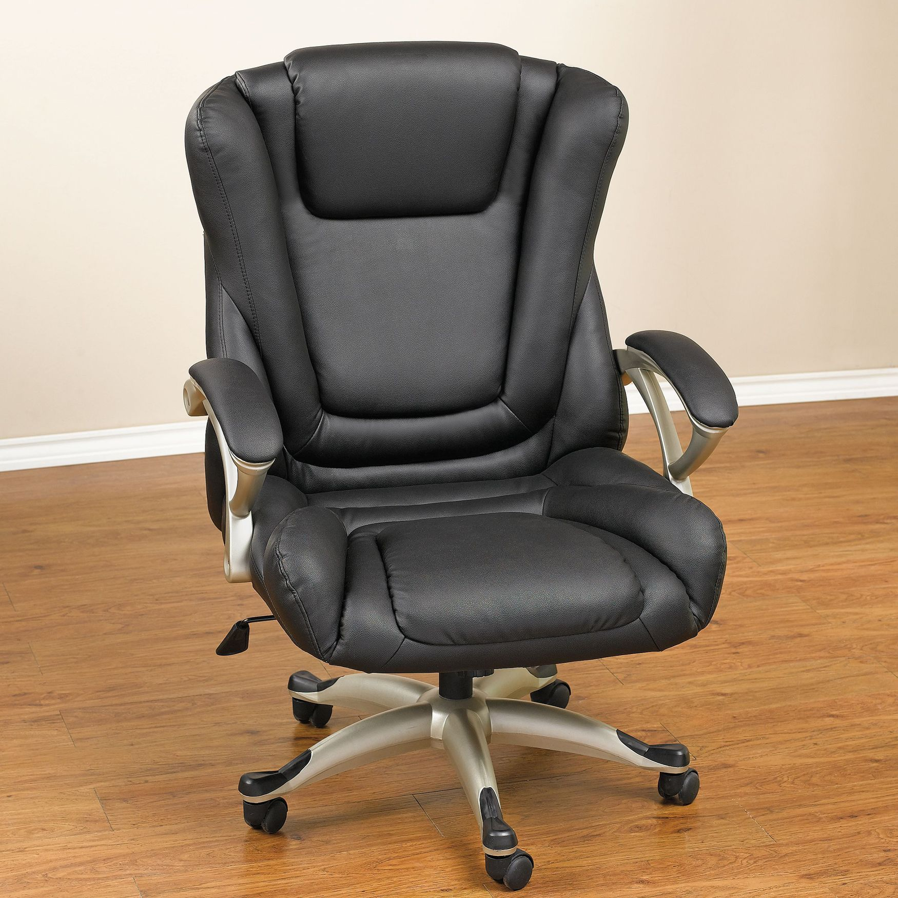 Extra Wide Deluxe Executive Padded Office Chair Plus Size Chairs