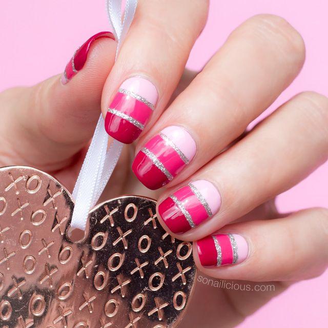 Gradient Valentine\'s Day Nails ft. Mavala I Love Mini Collection ...