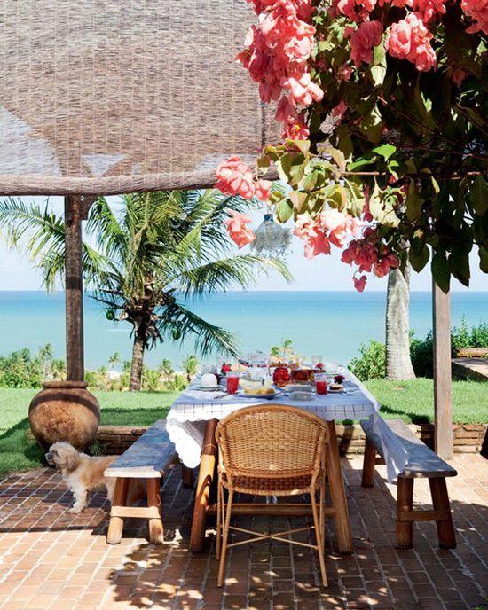 Cortinas para la terraza decoracion Pinterest Las terrazas - cortinas para terrazas