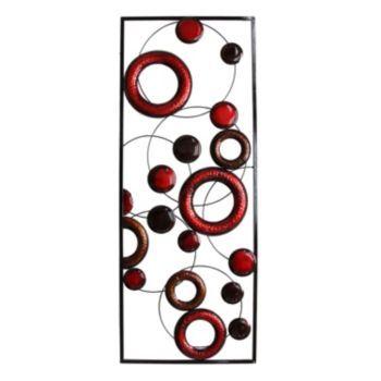 Stratton Home Circle Panel Metal Wall Decor | Home decor ideas ...