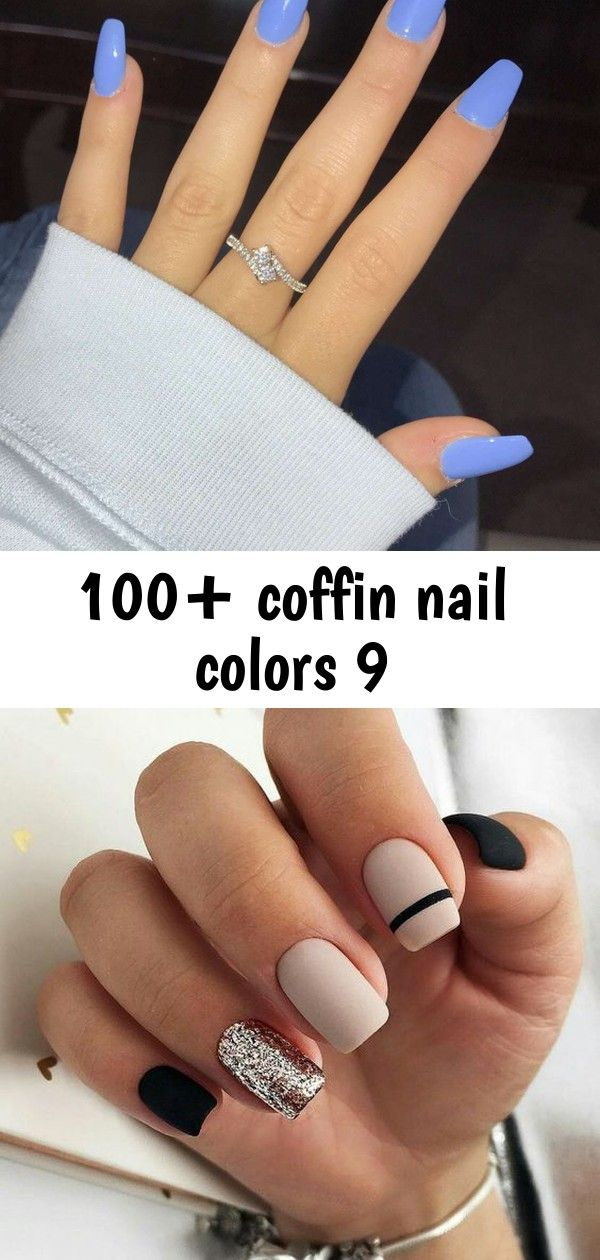 100+ coffin nail colors 9