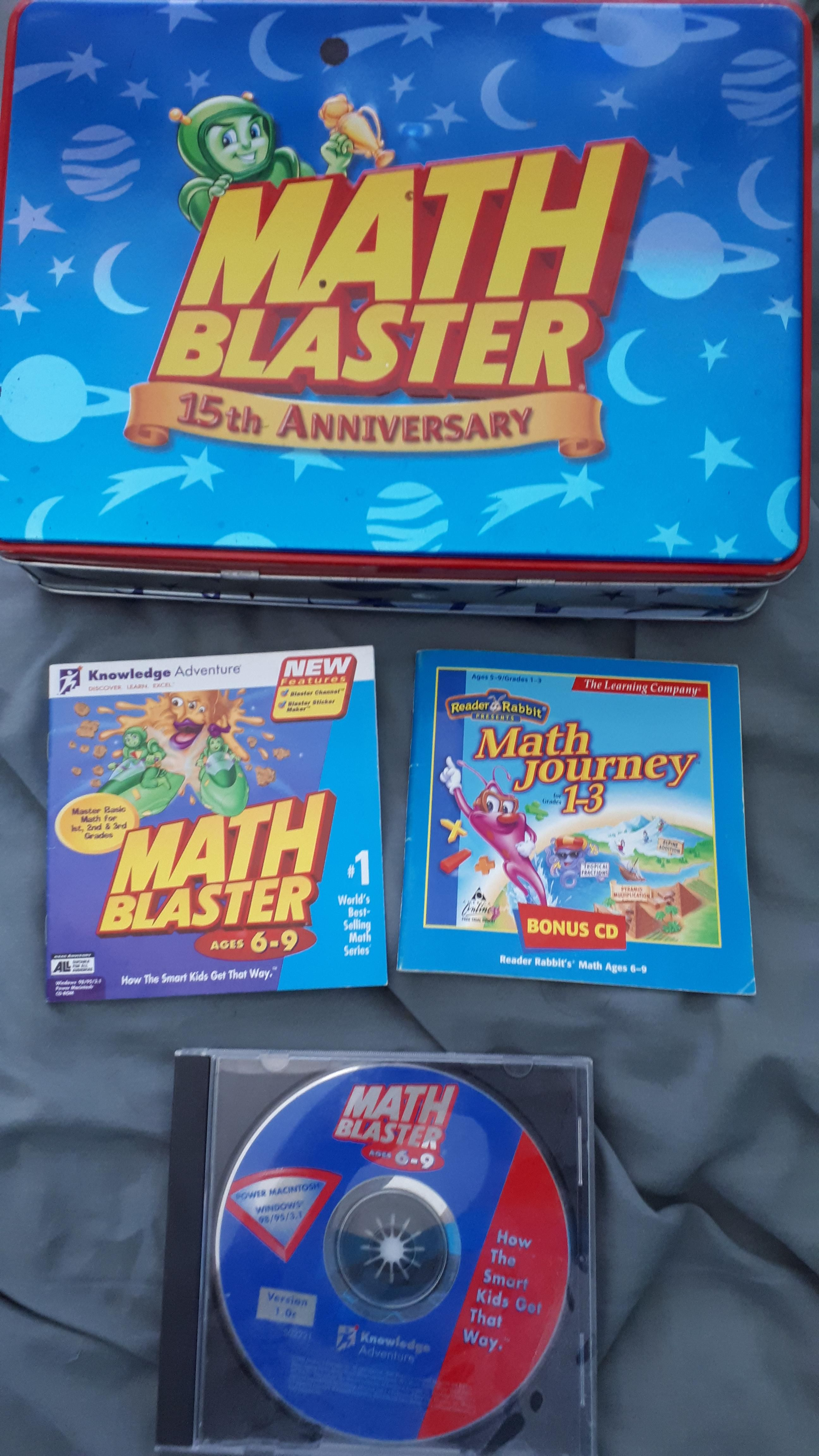 Math Blaster With Images