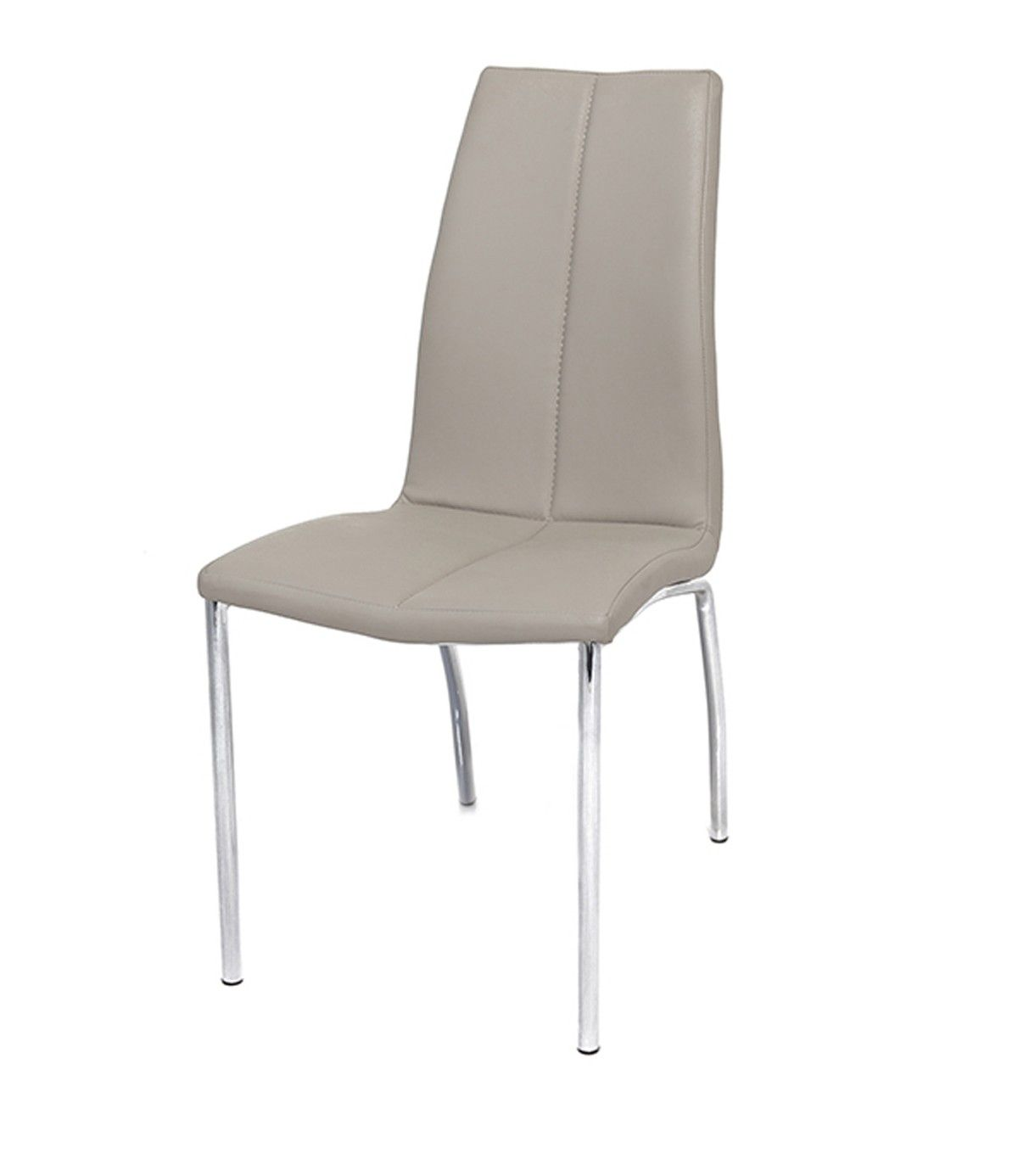 Boston Faux Leather Modern Dining Chair Mink Grey Set Of 4 Boston Upholstered Set Of 4 Mink Chairs Upholstered In A Beautiful Mink Modern Dining Chairs Dining Chairs Chair