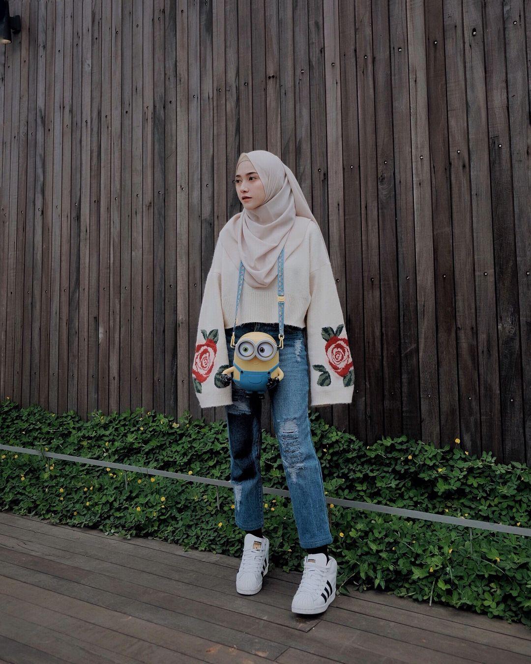 Pin On Outfit Baju Atasan Berhijab Ala Selebgram 2018