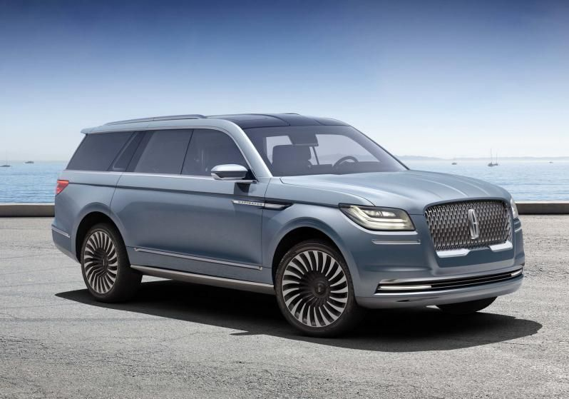 2017 Lincoln Navigator Will Be The Fourth Generation Model In Lineup And It Completely Redesigned Price Of This Full Size Suv