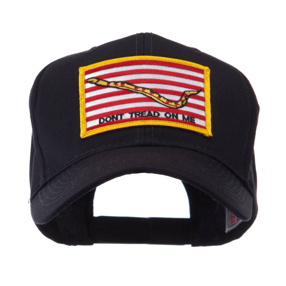 USA Flag Style Military Patch Cap - Navy Jack  105b7b498f7