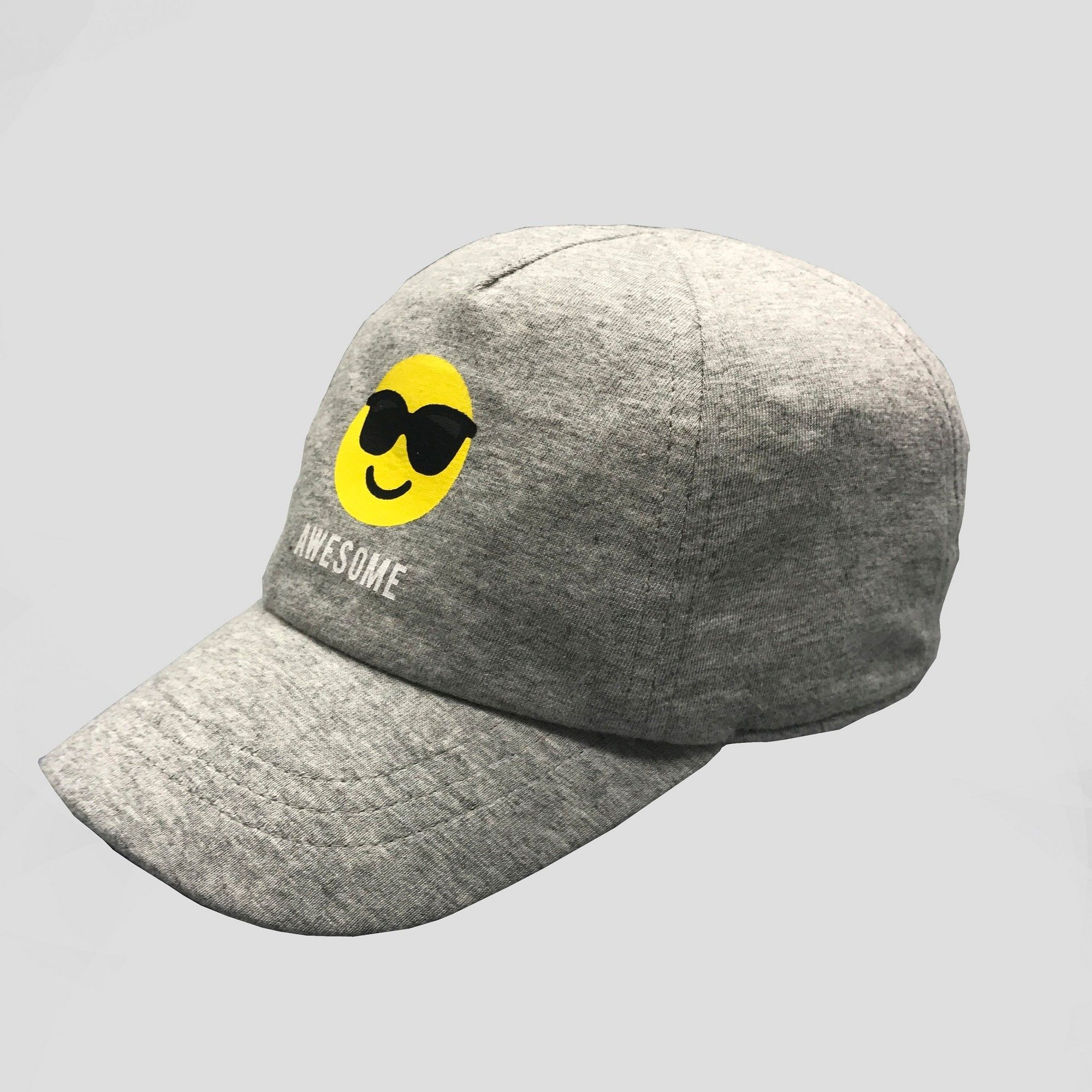 4ce204423f8 Baby Boys  Jersey Baseball Hat - Cat   Jack Gray 12-24M