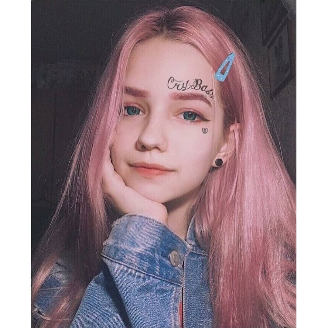 Cute Make up look (Dengan gambar) Gaya rambut, Rambut