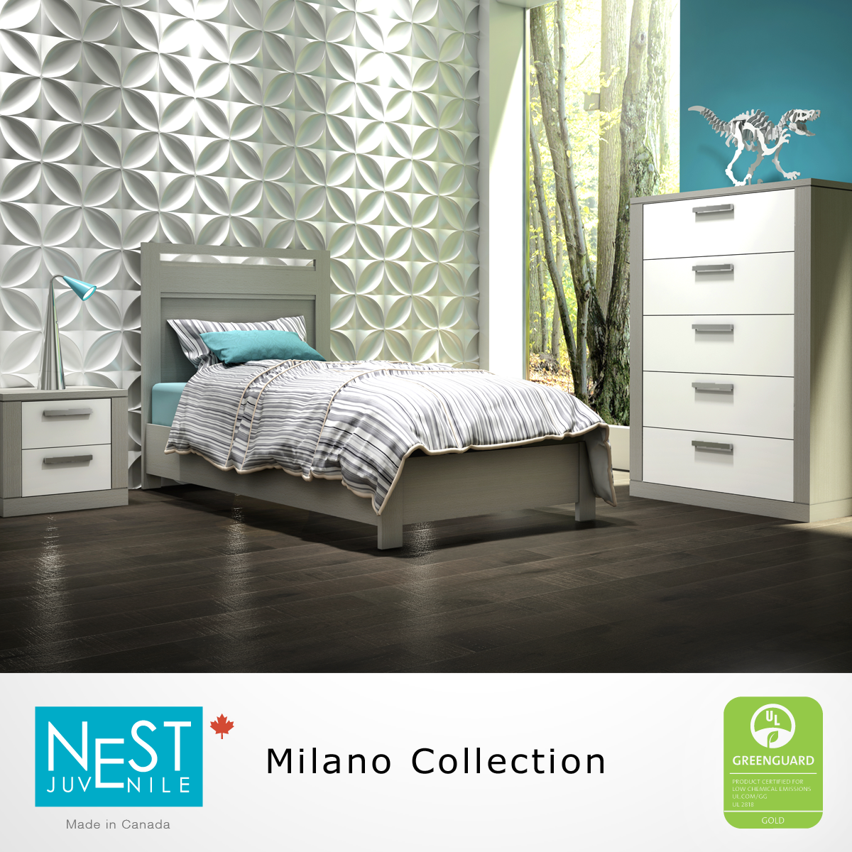 Time to upsize your child's bedroom furniture? The Milano ... - Time to upsize your child's bedroom furniture? The Milano Collection  features both Baby Furniture and