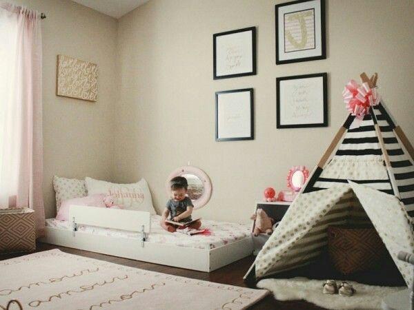 Camerette montessori ~ Idee a cui ispirarsi per una cameretta montessoriana for my baby
