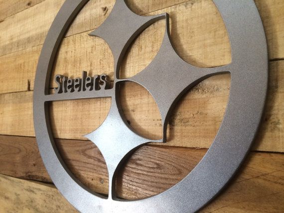 Personalized Nfl Man Cave Signs : Nfl pittsburgh steelers sign man cave wall art mdf board cut out