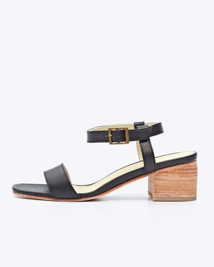 b86cb1f430 Lucia Block Heel Sandal Black | Products | Women's shoes sandals ...