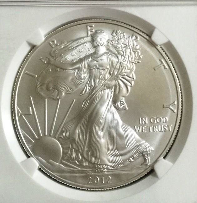 2007 W Silver Eagle - NGC GEM BU Graded Coin - American Silver Eagle - Silver Dollar Coins - Walking Liberty - Silver Coinage - 1 Oz Bullion by EarthlyCrystals33 on Etsy