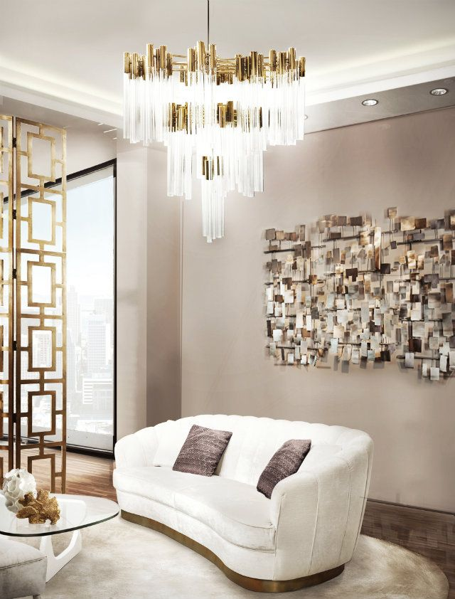 Creative Contemporary Lighting Ideas For A Living Room