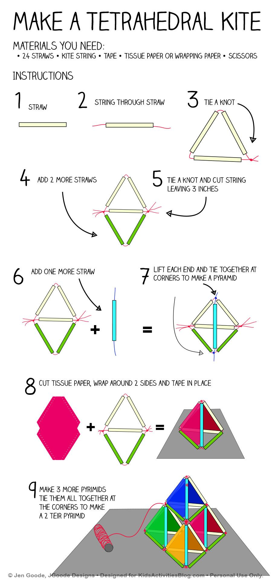how to solve one side of a pyramid