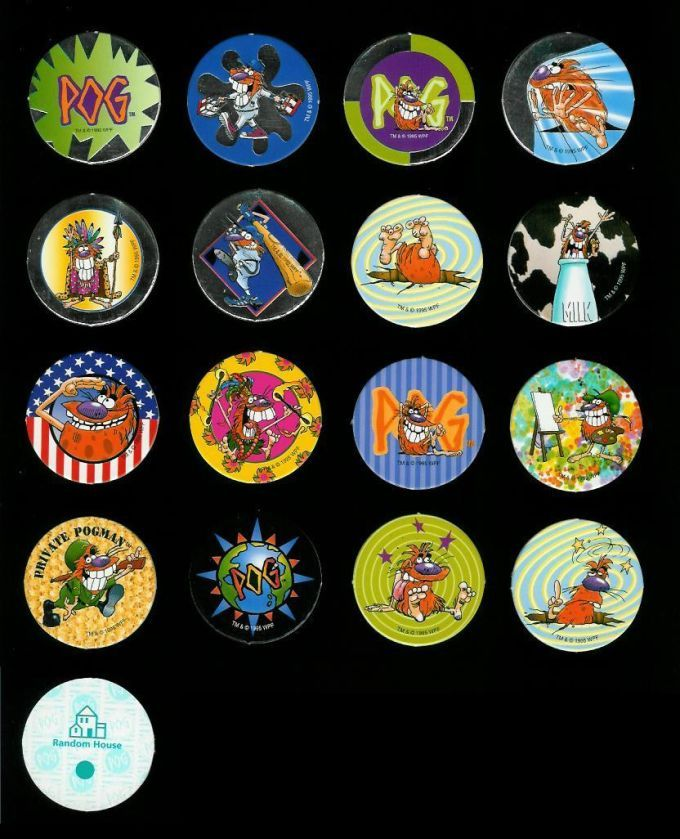 The 10 Rarest Pogs From The 90s 10 Things Old Toys Rare