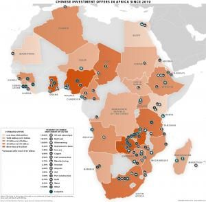 Map Of Africa 2010.Chinese Investments In Africa Stratfor Maps Africa Map