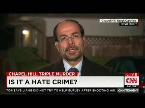 Video: CAIR Director Nihad Awad Appears on 'CNN Tonight' to Discuss Chapel Hill Murders - YouTube