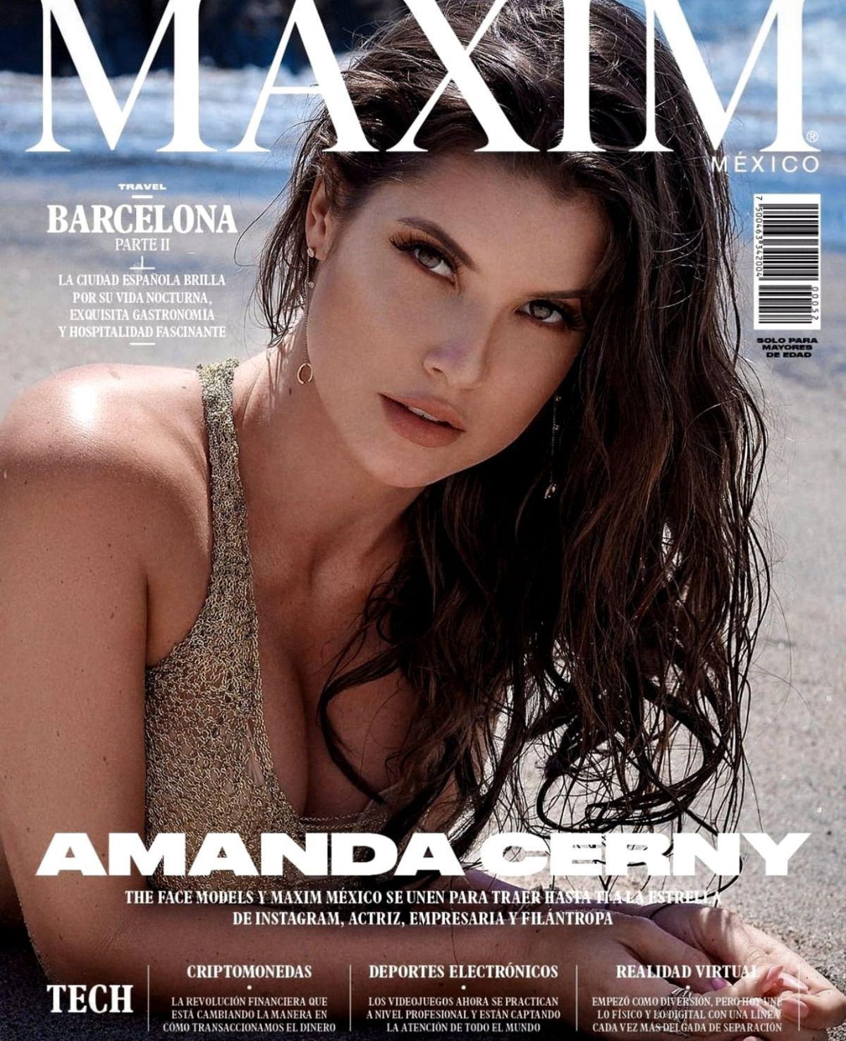 Amanda Cerny Maxim Magazine Mexico August 2019 Amanda Cerny