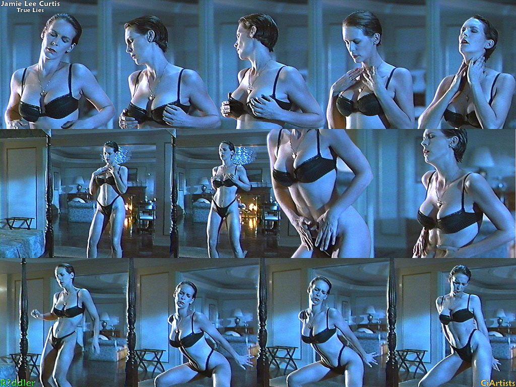 Cool Jamie Lee Curtis True Lies True Lies True Lies The Dance Hairstyles For Women Draintrainus