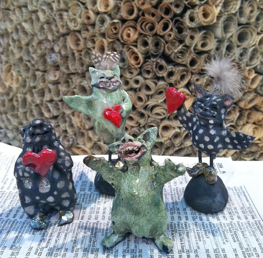 four little monsters by lisa schumaier