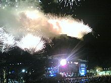 Hogmanay Fireworks In Edinburgh Fireworks New Years Eve Party New Year Celebration