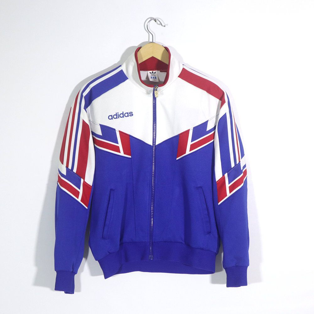 Vintage 80s 90s ADIDAS PALACE Track Top Jacket Template