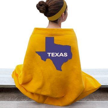 state of texas  art logo school logo customized girl
