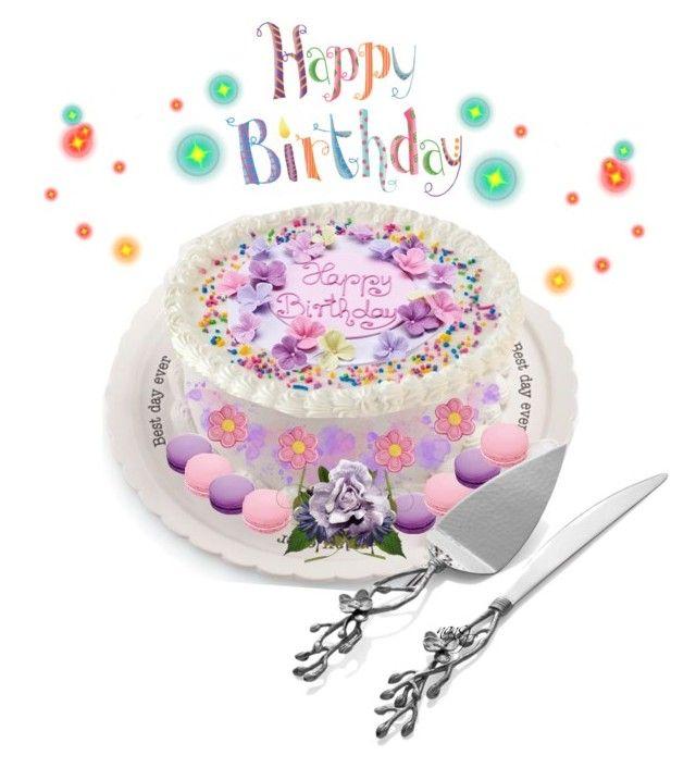 """July Celebrators"" by nans0717 ❤ liked on Polyvore featuring art, cake, Birthdaycake, designacake and diycake"