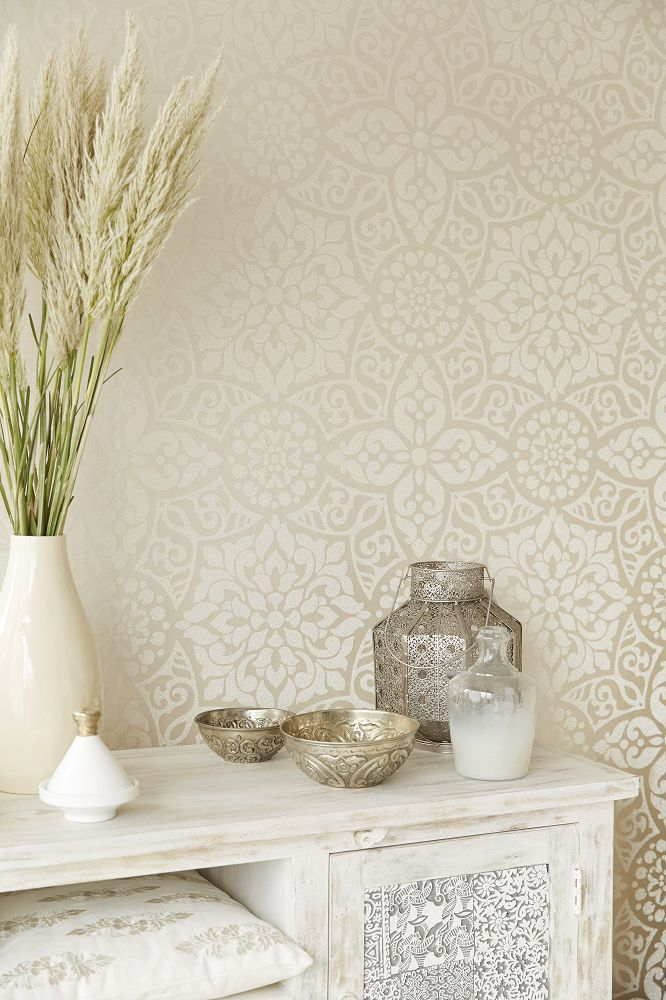 Beautiful #neutral #wallpaper Design By Eijffinger. Wallpaper  DesignsDesigner WallpaperWallpaper IdeasPersonal ...