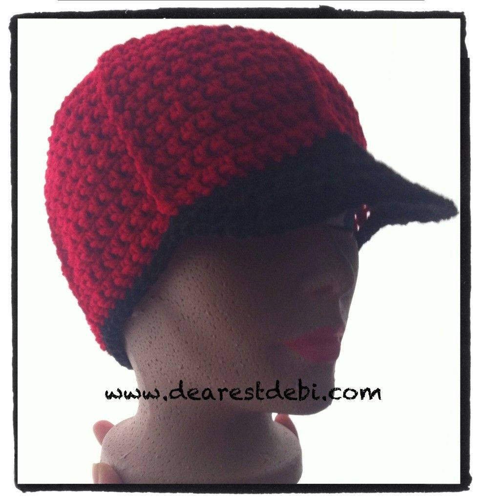 Mens crochet ball cap free pattern by dearestdebi crochetholic mens crochet ball cap free pattern by dearestdebi bankloansurffo Gallery