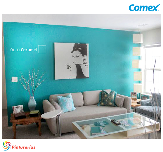 Encuentra tu estilo y pinta tu mundo decoraci ncomex for Decoracion metalica pared