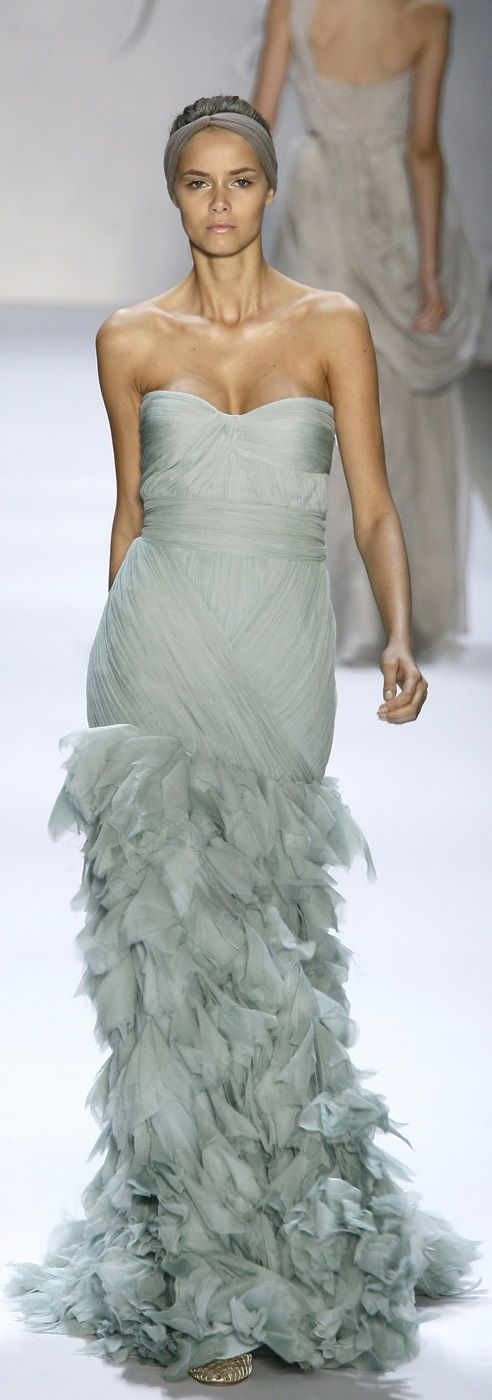 Monique Lhuillier Spring 2008