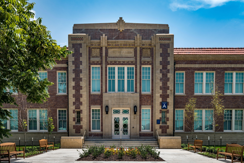 Historic landmark celebrates grand opening elementary